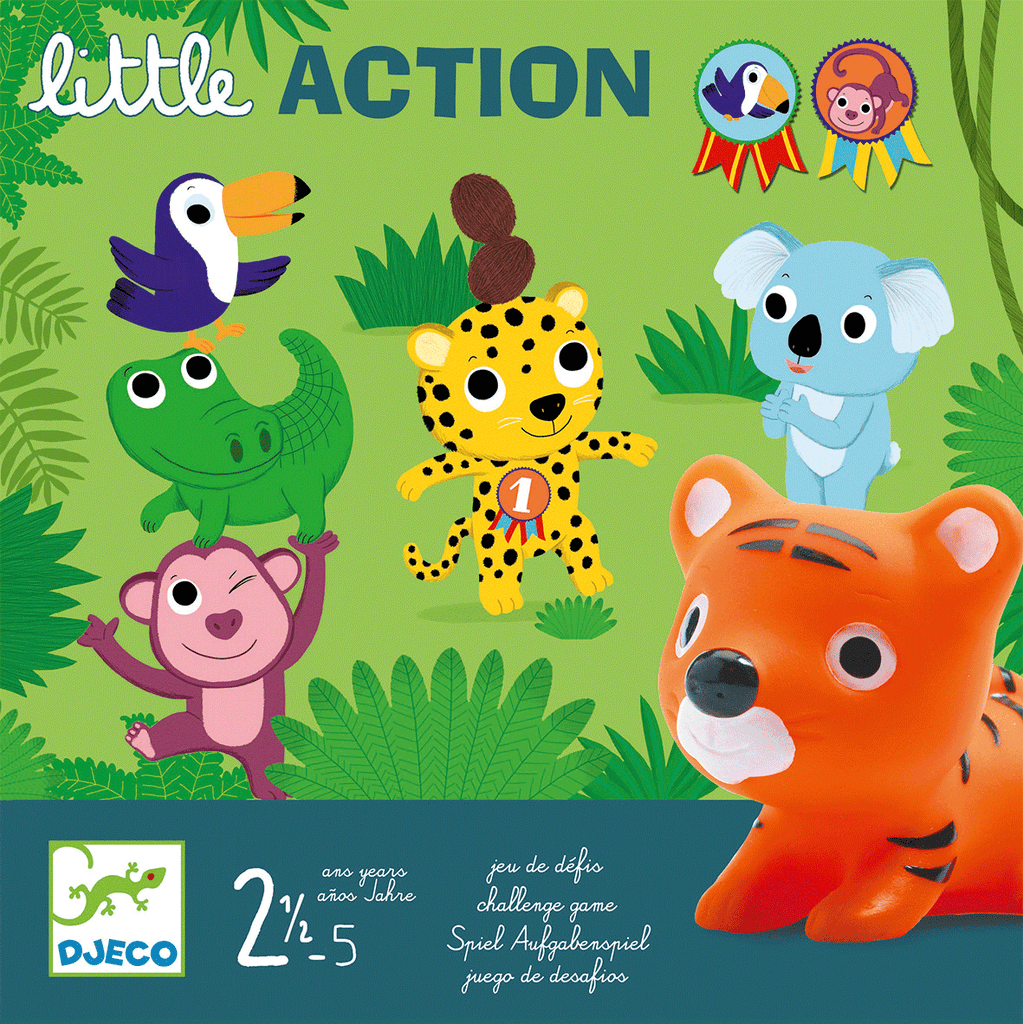 Little Games Little Action design by DJECO