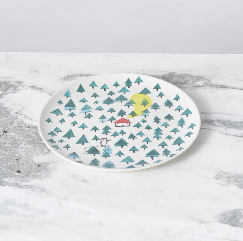 Illustrated Dish Set - Bear by Fable New York