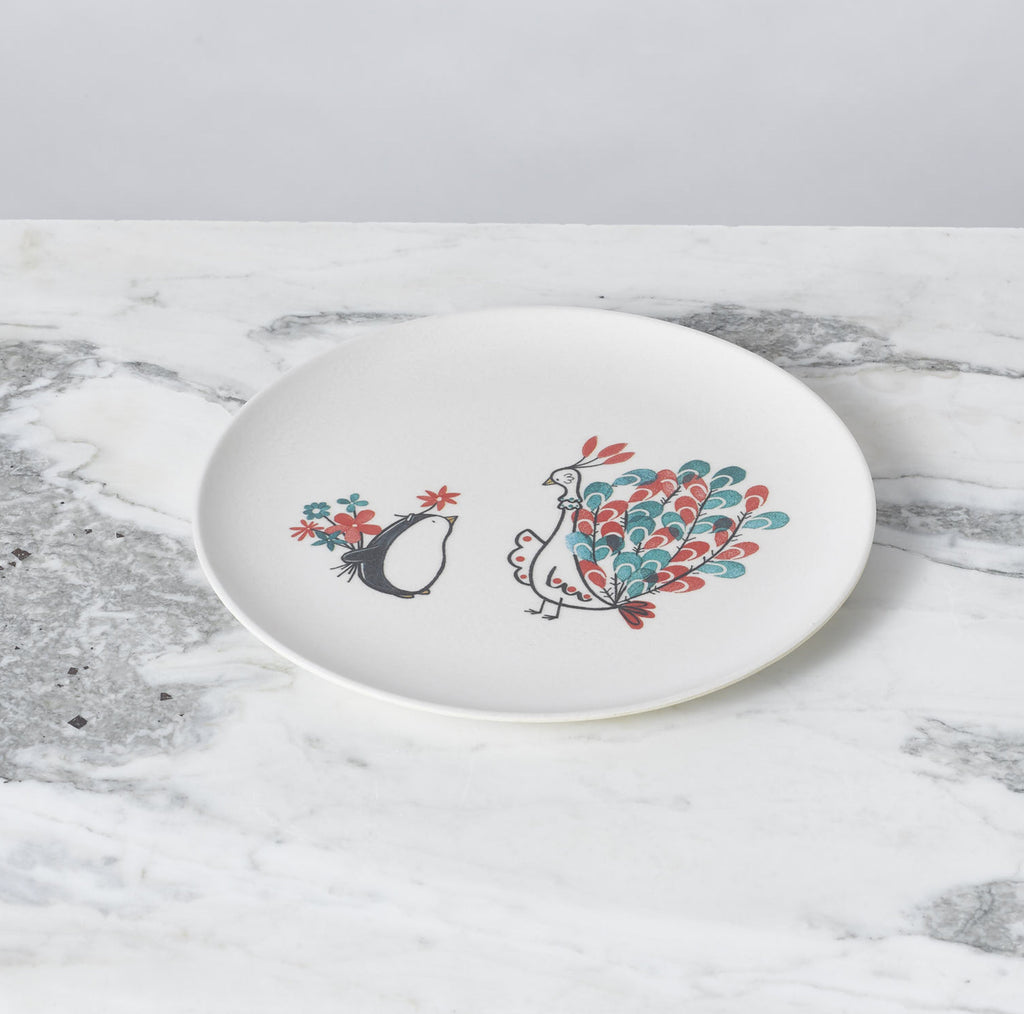 Illustrated Plate Set by Fable New York