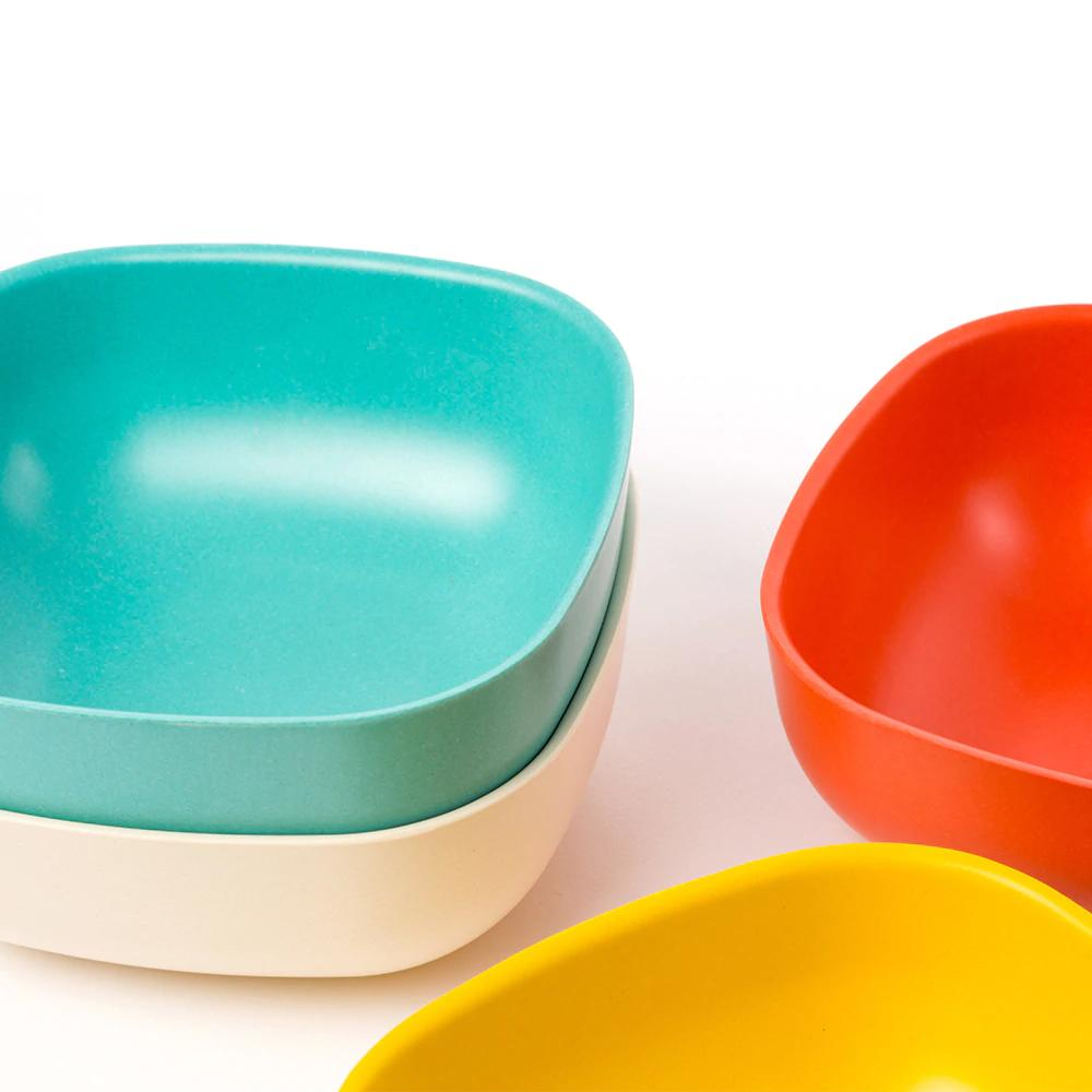 Gusto Bamboo Cereal Bowl in Various Colors (Set of 4) design by EKOBO