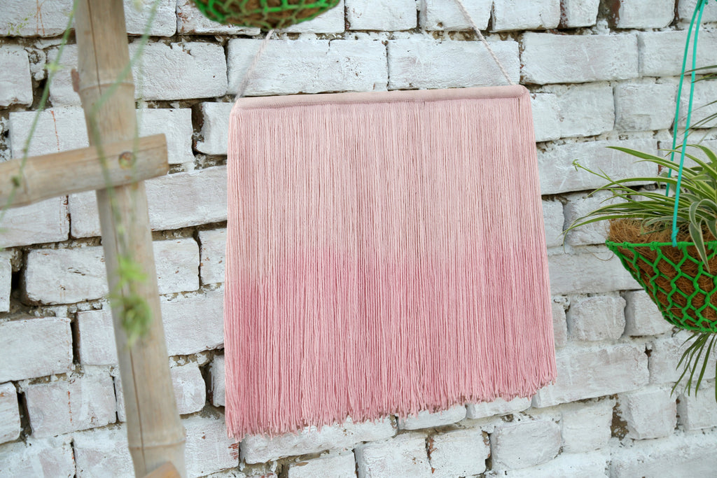 Tie-Dye Wall Hanging in Pink