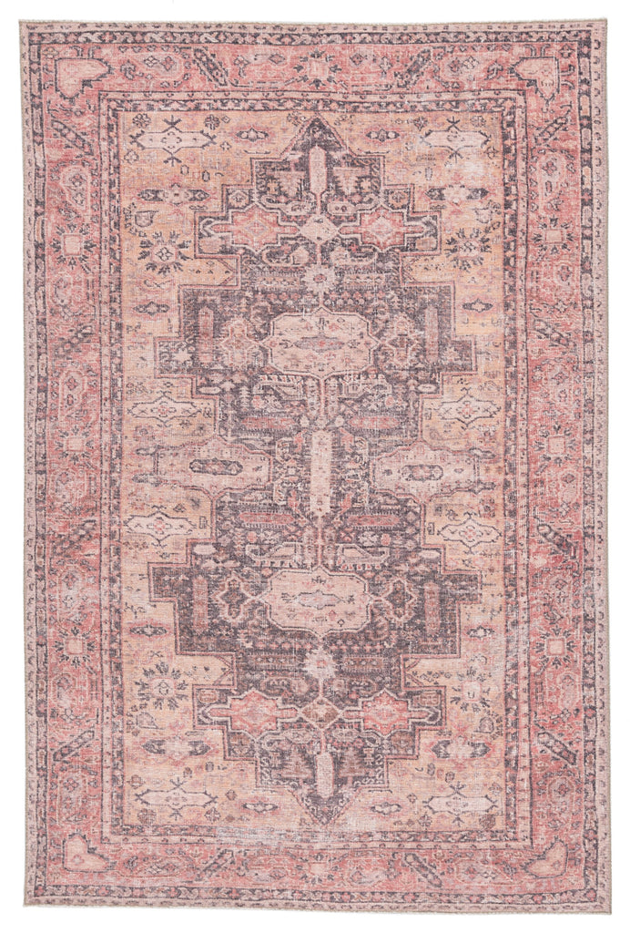 Cosima Medallion Pink/ Dark Purple Rug by Jaipur Living