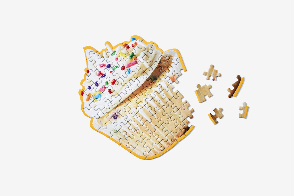 Little Puzzle Thing™ - Cupcake design by Areaware