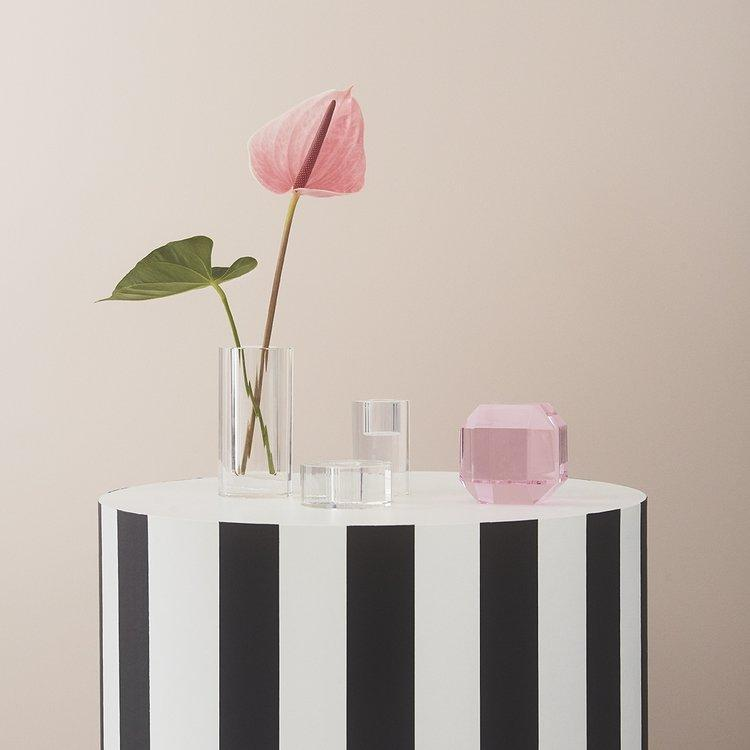 Nordic Glass Vase in Clear design by OYOY