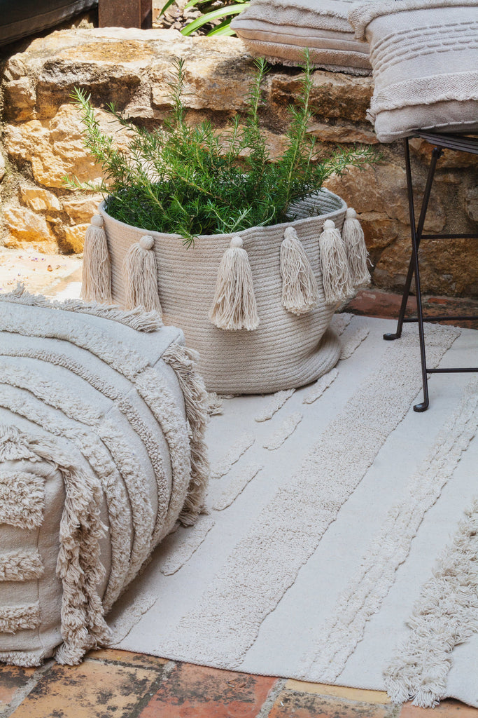 Air Pouffe in Natural