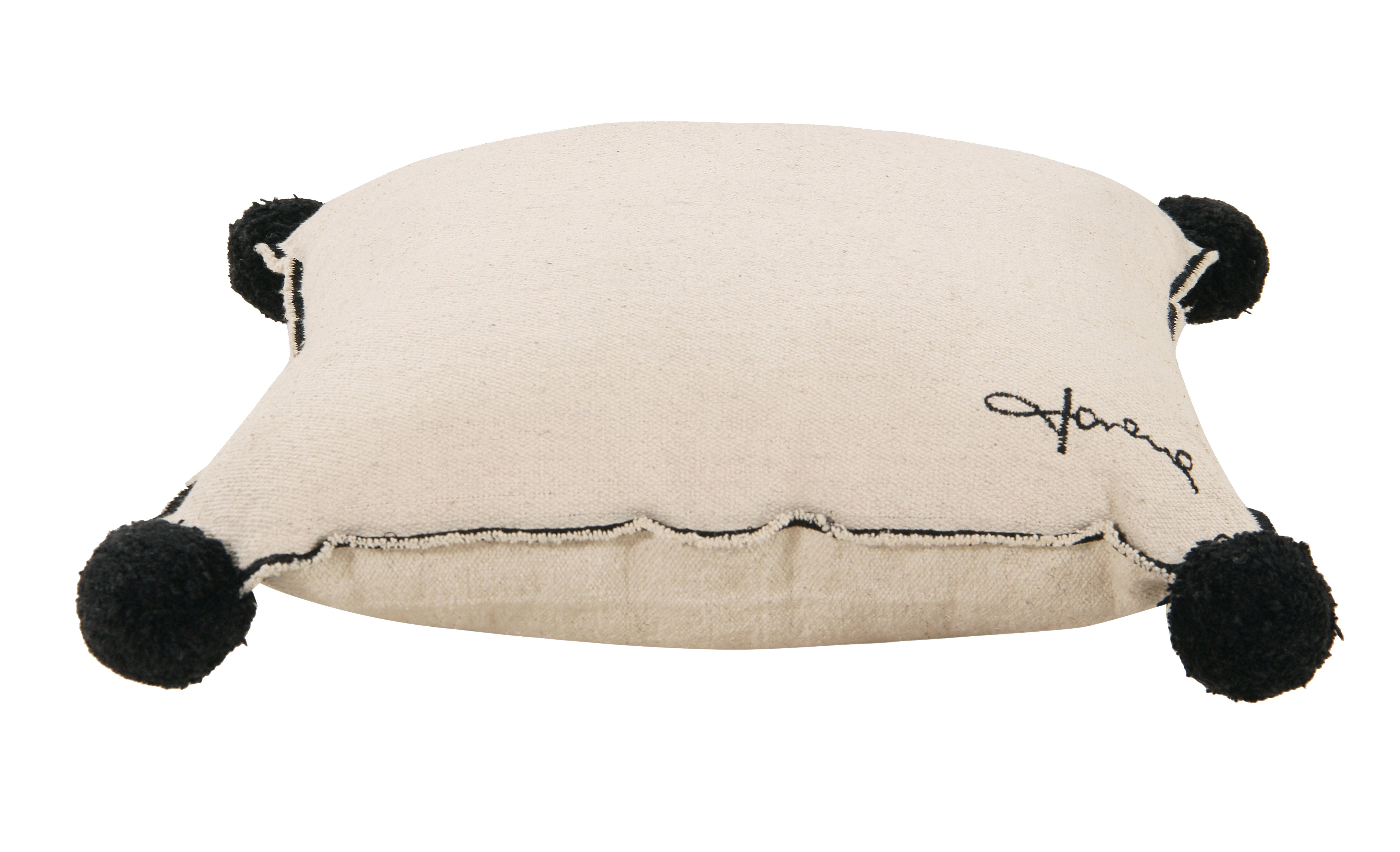 Square Cushion in Beige design by Lorena Canals