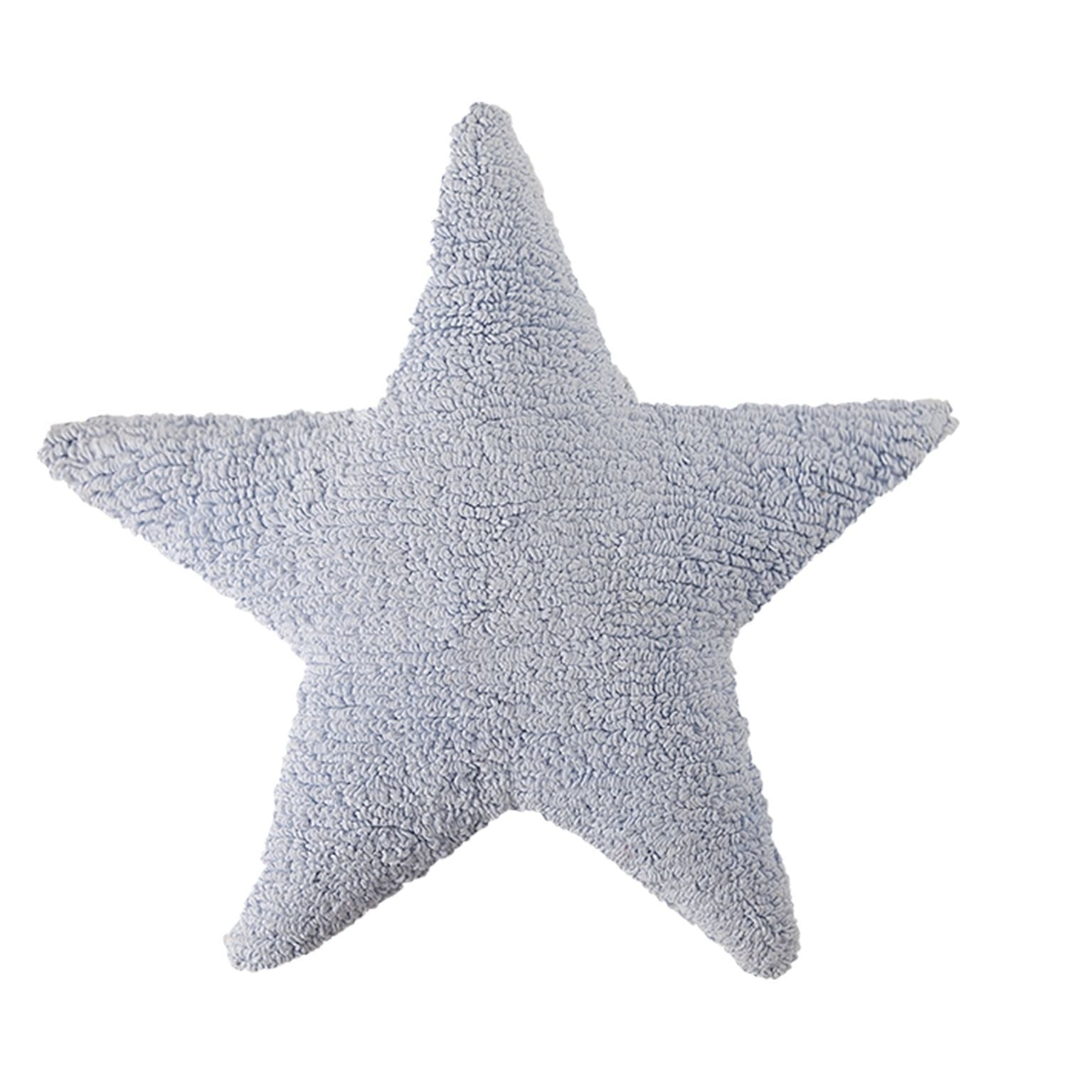 Star Cushion in Blue design by Lorena Canals