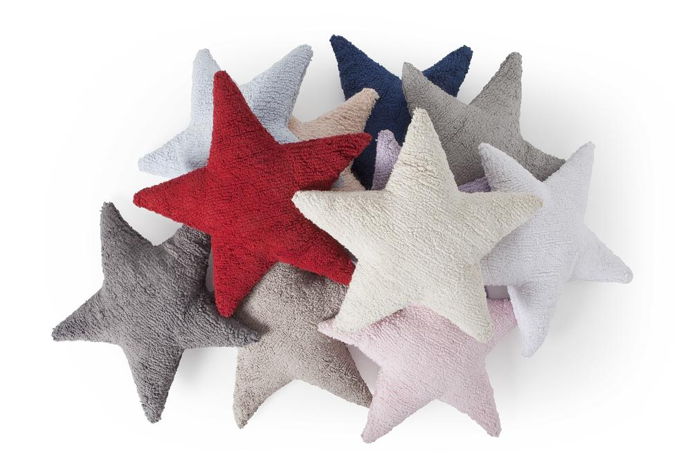 Star Cushion in Linen design by Lorena Canals
