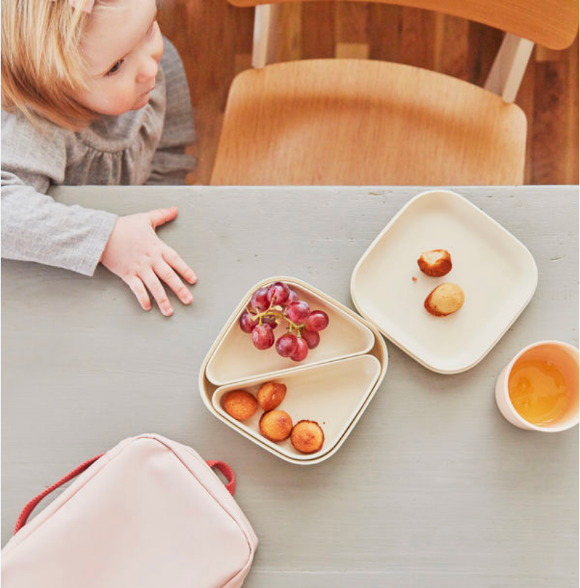 Go Square Bento Lunch Box in Various Colors design by EKOBO