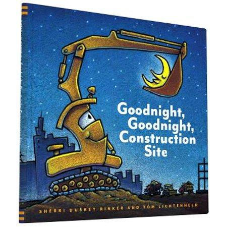Buenas noches, construcción. Buenas noches, diversión. (Goodnight, Goodnight, Construction Site Spanish language edition)  By Sherri Duskey Rinker