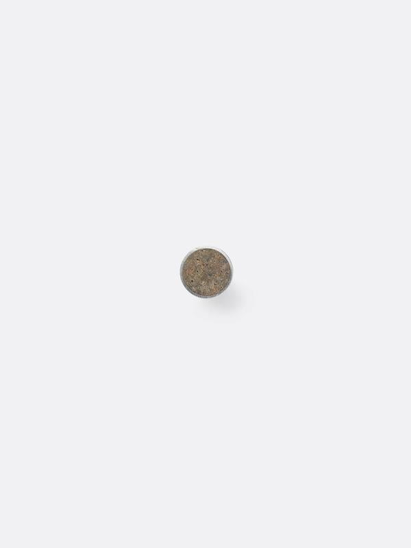Small Steel Hook in Brown Marble by Ferm Living