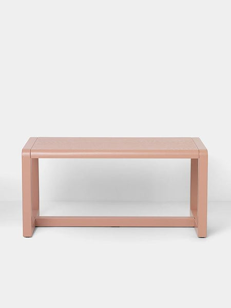 Little Architect Bench in Rose design by Ferm Living