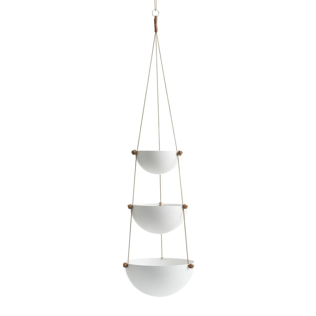 Large Pif Paf Puf Hanging Storage in White design by OYOY