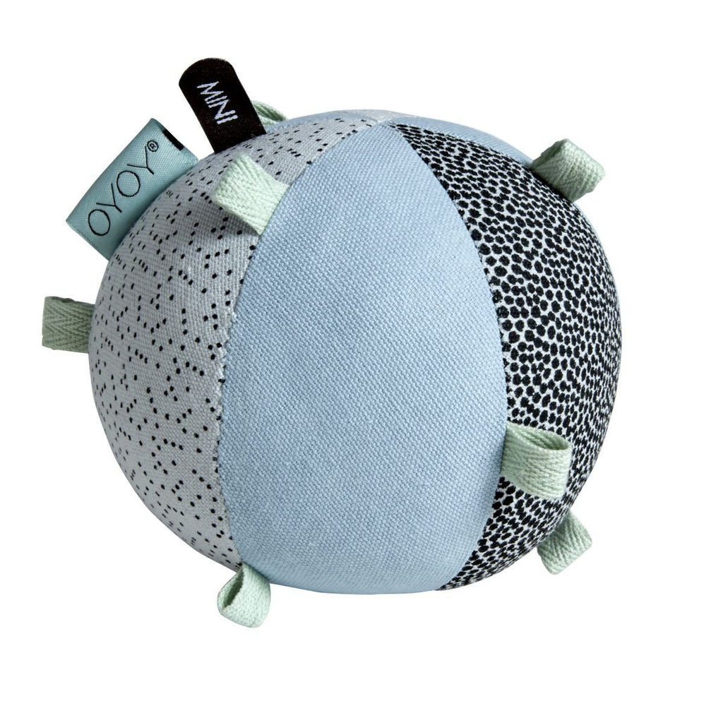 Puzzle Baby Ball in Dusty Aqua design by OYOY