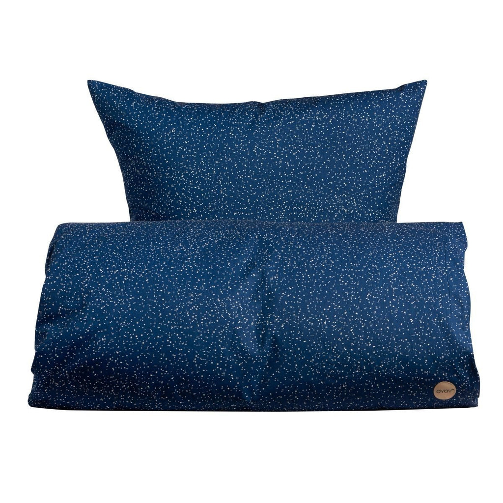 Starry Bedding in Estate Blue design by OYOY