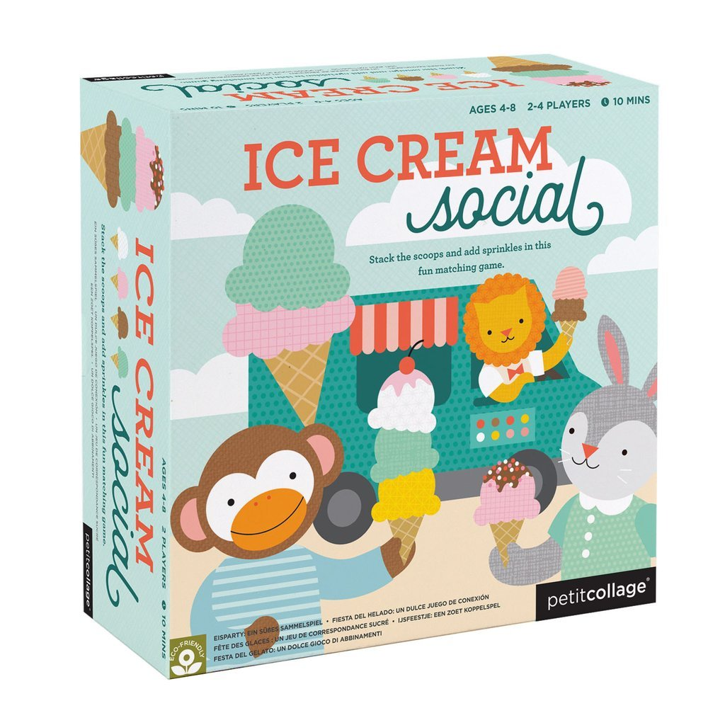 Ice Cream Social Game by Petit Collage
