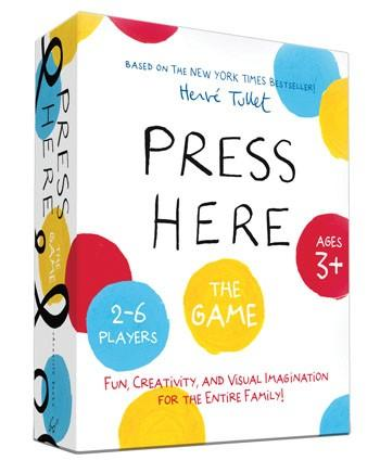 Press Here: The Game Fun, Creativity, and Visual Imagination for the Entire Family! By Hervé Tullet