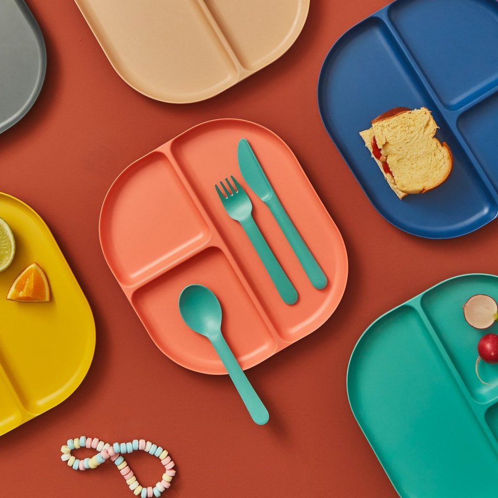 Bambino Trio Bamboo Cutlery Set in Various Colors design by EKOBO