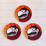 "Lot de 3 mini-stickers ""Joffrey"""