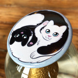"Grand badge ""Yin et Yang"" (57 mm)"