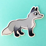 "Sticker transparent ""Renard"""