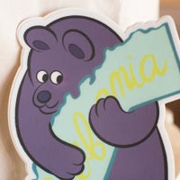 "Lot de 2 stickers ""California"" et ""SF"""