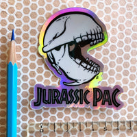 "Sticker ""Jurassic Pac"" holographique"