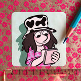 "Sticker ""Croquis"""