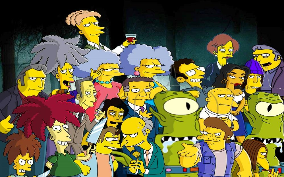 Top 10 Simpsons Villains