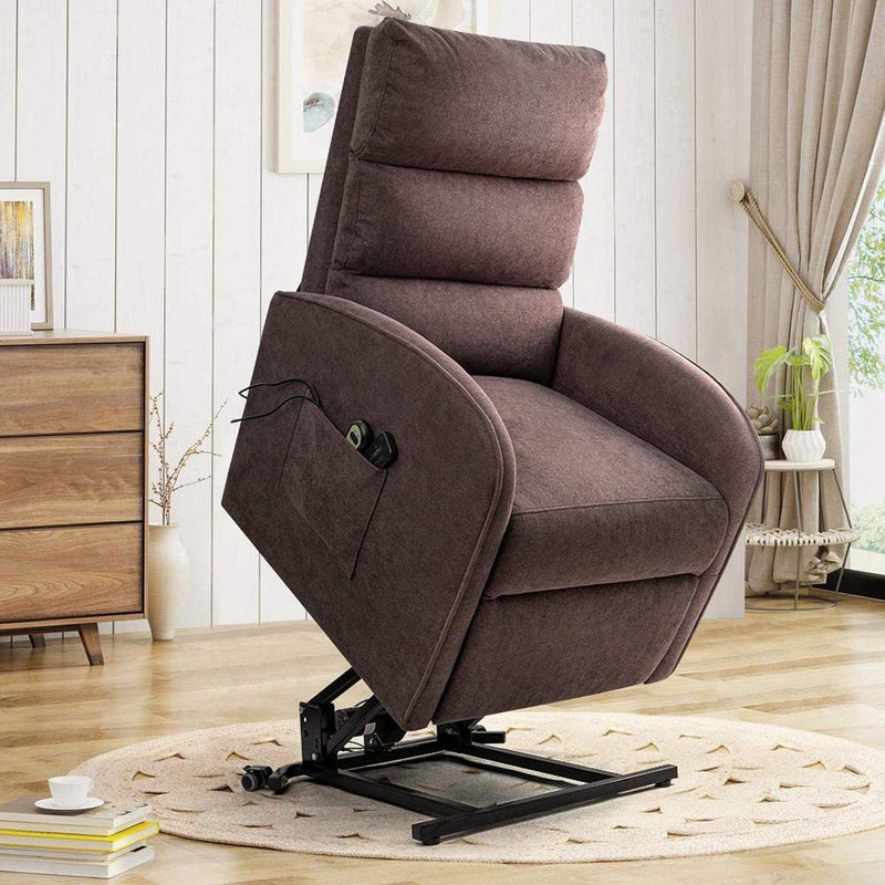 Furniwell Electric Power Lift Recliner Chair Massage Sofa Home Recliner for Elderly Classic Lounge Chair Living Room Chair