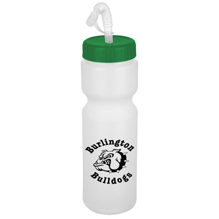 Sport Bottle with Straw Lid - 28 oz