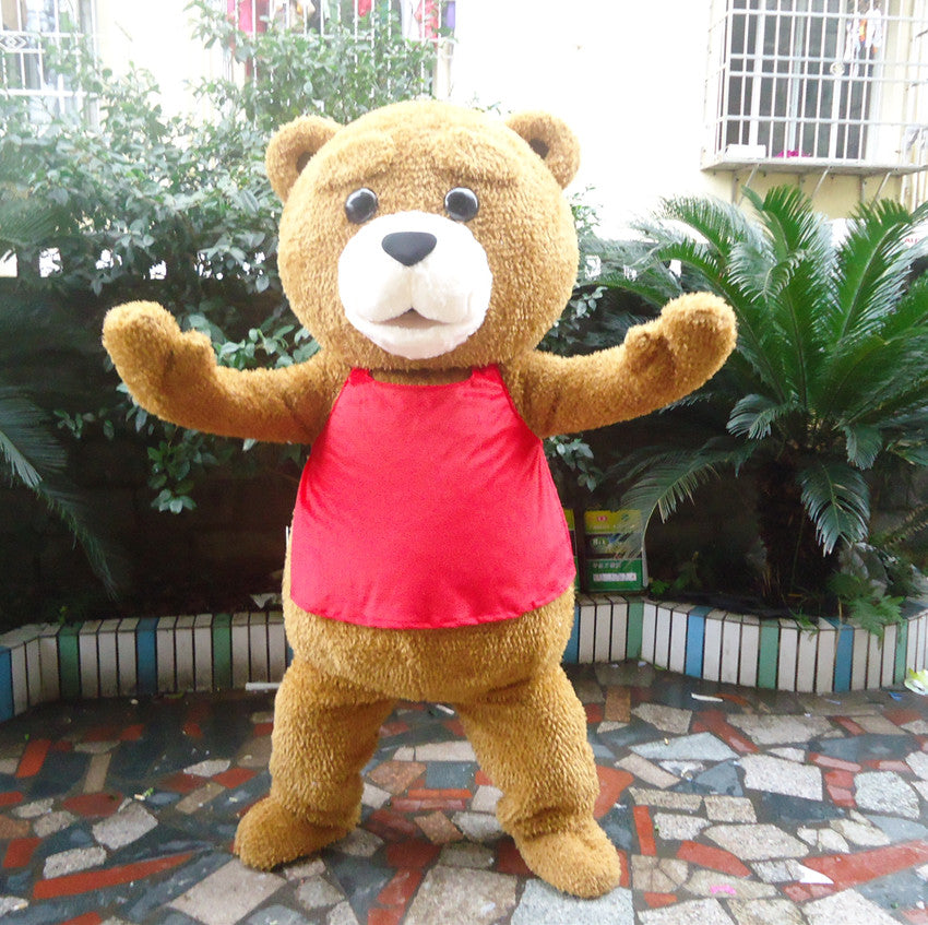 Teddy Bear Mascot - Costume