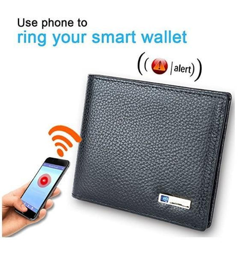 Amazing Anti-Theft Smart Wallet