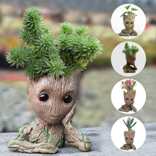 Load image into Gallery viewer, Tree man Pot plant Pot