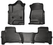 Husky Liners 2015 Chevy/GMC Suburban/Yukon XL WeatherBeater Combo Black Front&2nd Seat Floor Liners