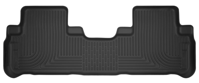 Husky Liners 14-18 Toyota Highlander X-Act Contour Black Floor Liners (2nd Seat)