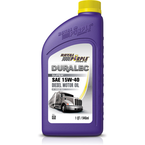 ROYAL PURPLE API SYNTHETIC OIL 15W40 GAS & DIESEL 1 QUART
