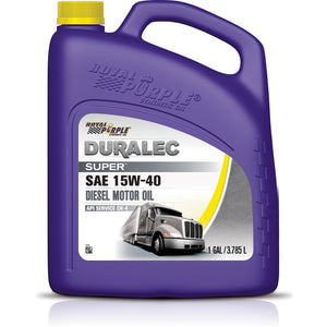 ROYAL PURPLE  - 1 GALLON BOTTLE OF 15W-40 MOTOR OIL