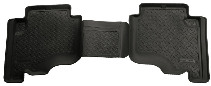 Husky Liners 05-10 Jeep Grand Cherokee/2006 Commander Classic Style 2nd Row Black Floor Liners