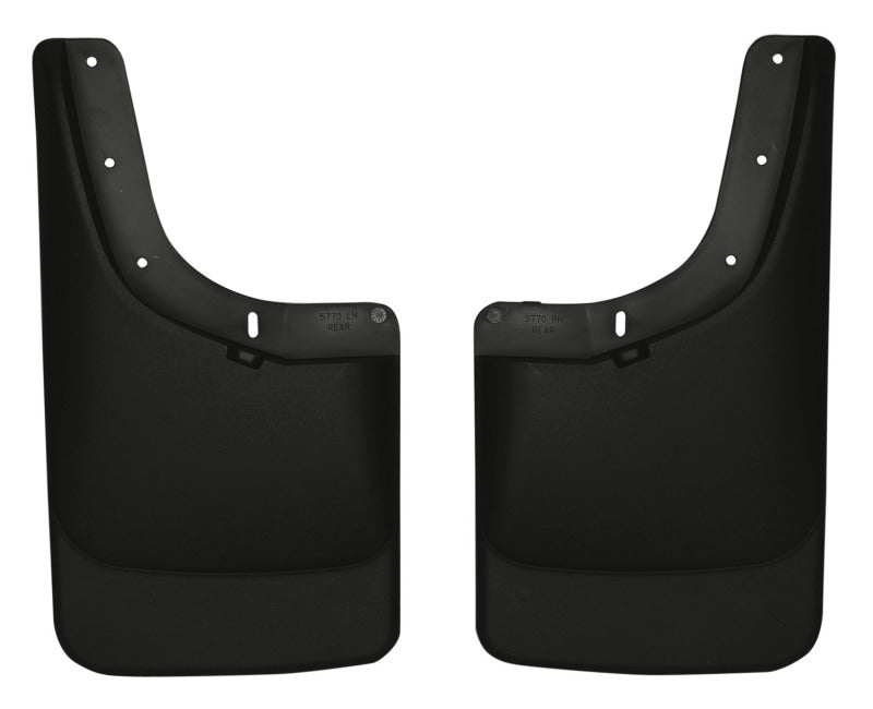 Husky Liners 04-12 Chevrolet Colorado/GMC Canyon Custom-Molded Rear Mud Guards (w/o Flares)