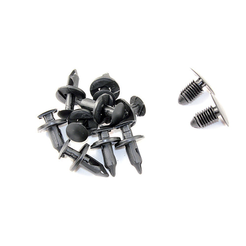 MERCHANT AUTOMOTIVE WHEEL WELL LINER KIT, 10 CLIPS, 2 PANEL FASTENERS