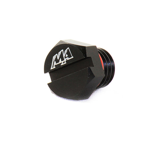 MERCHANT AUTOMOTIVE MA ALUMINUM FUEL FILTER HEAD BLEEDER SCREW