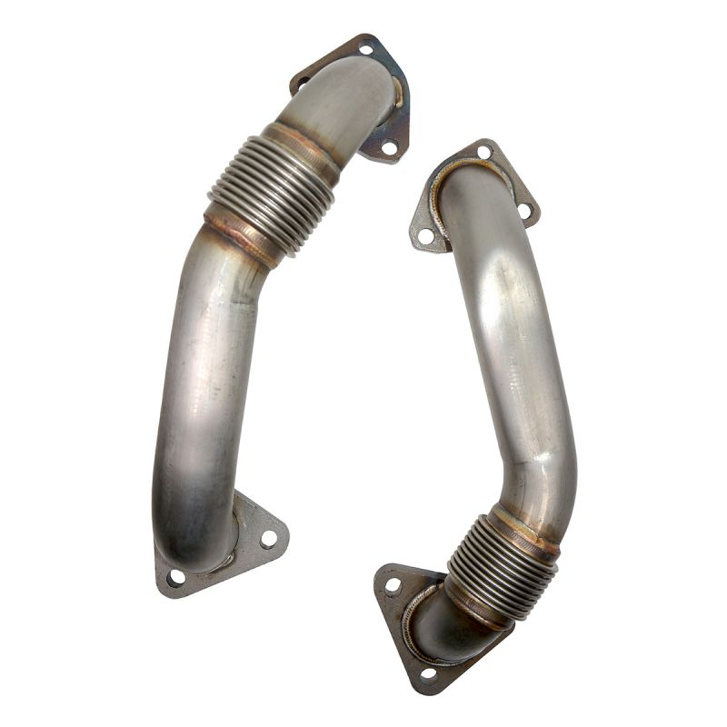 PPE OEM LENGTH REPLACEMENT HIGH FLOW UP-PIPES - GM 6.6L DURAMAX 2001 CA AND 2001-2004 FED (116120000)