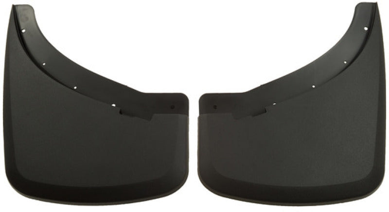 Husky Liners 07-12 Chevrolet/GMC HD Dually Custom-Molded Rear Mud Guards