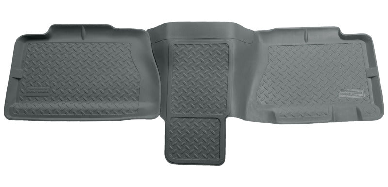 Husky Liners 01-06 Chevy Suburban/Yukon XL/Denali XL Classic Style 2nd Row Gray Floor Liners