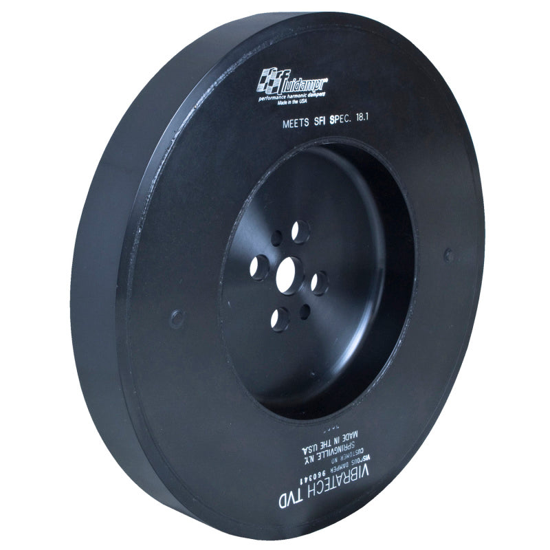 Fluidampr Dodge Cummins 5.9L Comp Series (No Pulley) Steel Internally Balanced Damper