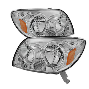 Xtune Toyota 4Runner 03-05 Crystal Headlights Chrome HD-JH-T4R03-AM-C