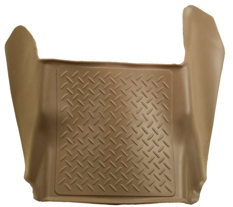 Husky Liners 14 Chevrolet Silverado/GMC Sierra 1500 WeatherBeater Tan Center Hump Floor Liners