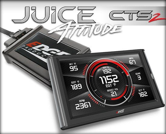 Edge Products - 31502 - Juice with Attitude CTS2 Monitor - 2003-2004 DODGE 5.9L CUMMINS