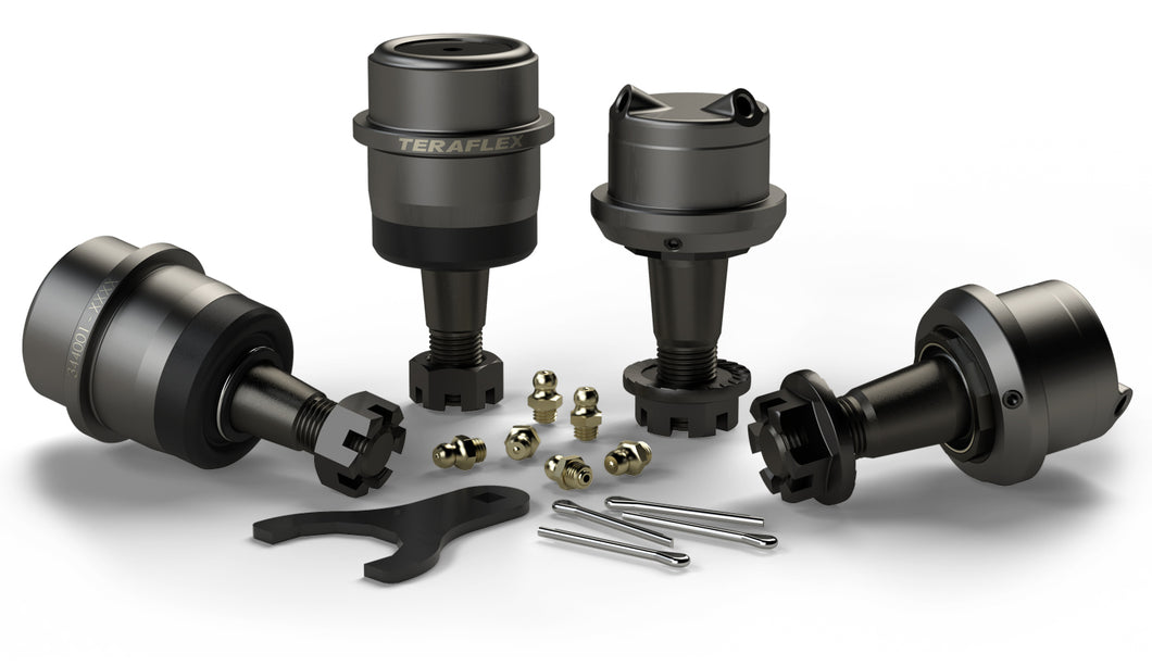 TERAFLEX JK/JKU HD DANA 30/44 UPPER & LOWER BALL JOINT KIT W/OUT KNURL